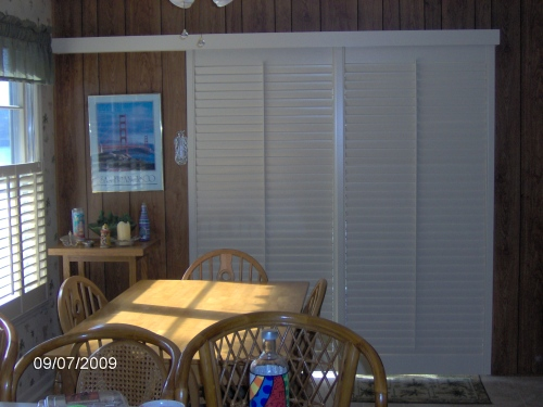 "2 1/2"" Sliding Glass Door Shutters"