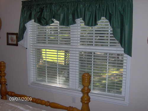 "2"" Real Wood Blind Double Window"