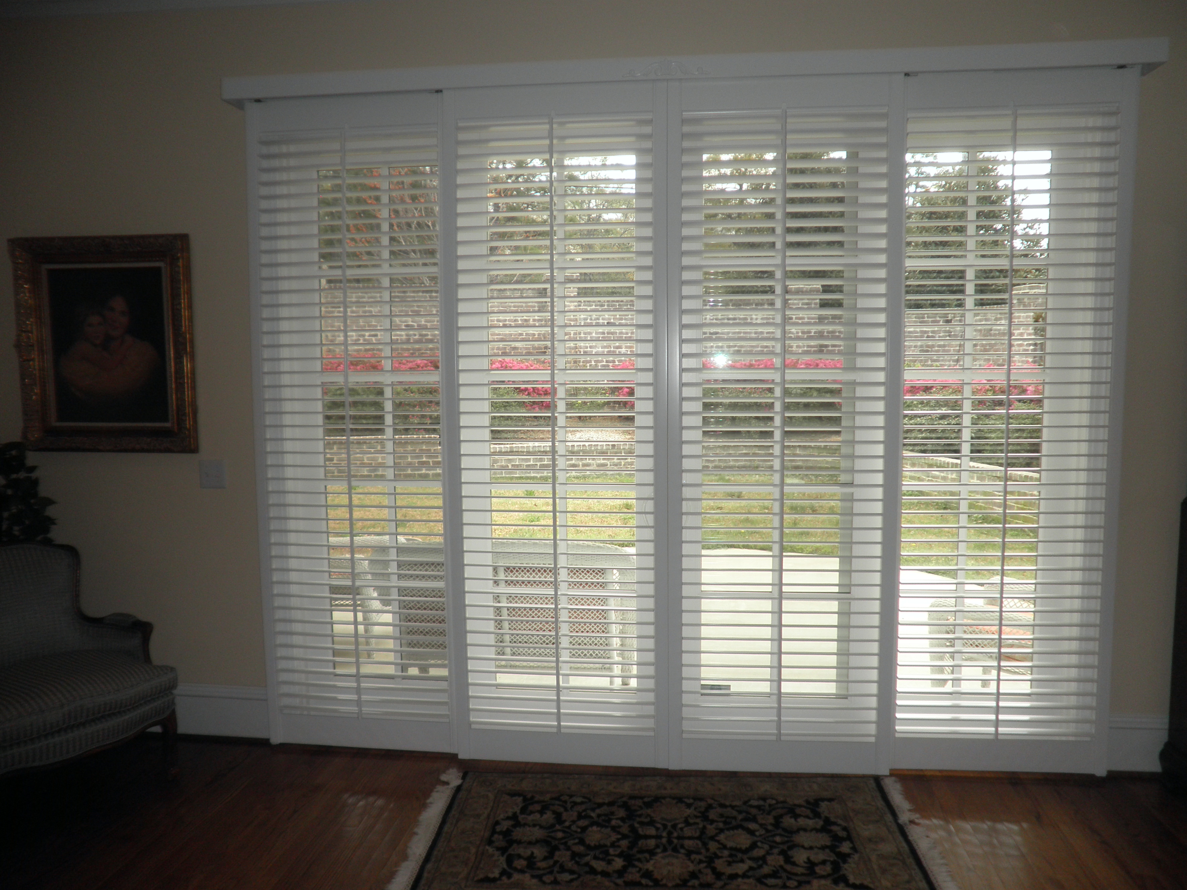 2 1/2u2033 Sliding Glass Door Shutters