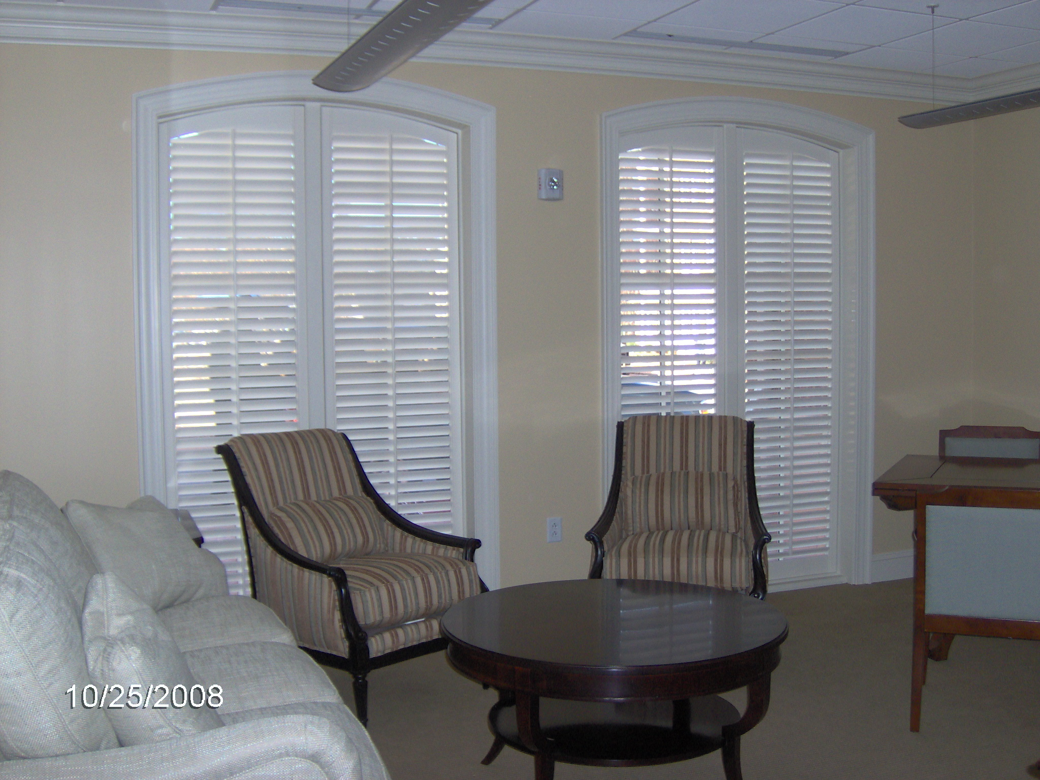 Image Result For Arched Plantation Shutters